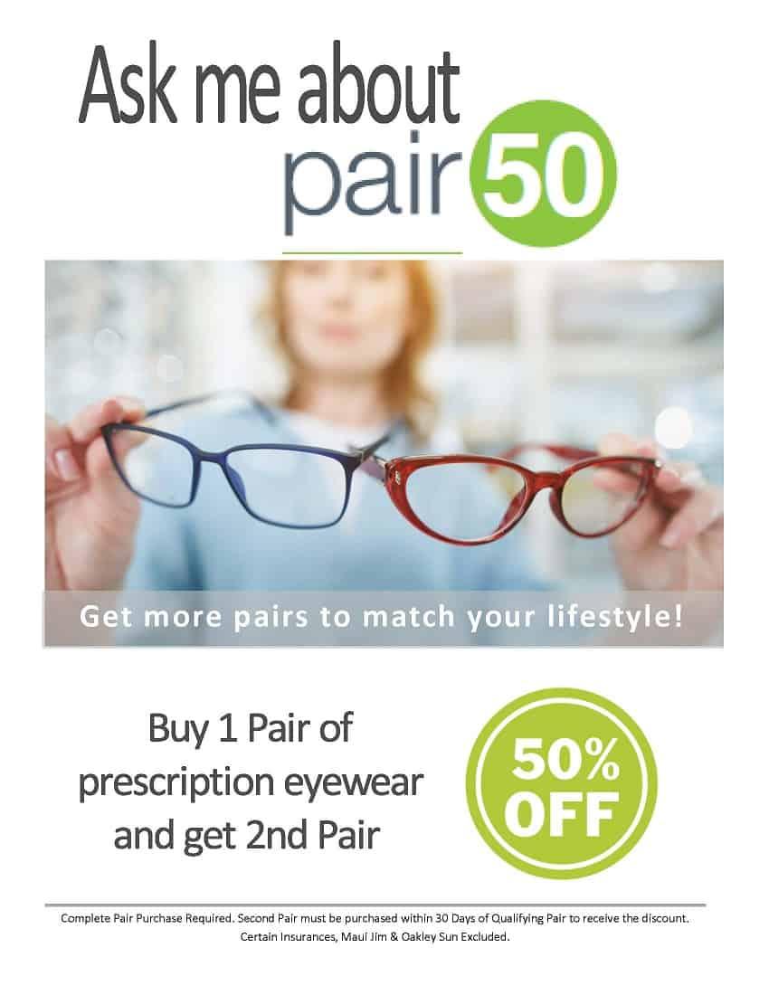 Savings on Glasses